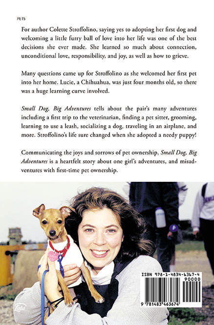 Small Dog, Big Adventures - Book - Back Cover